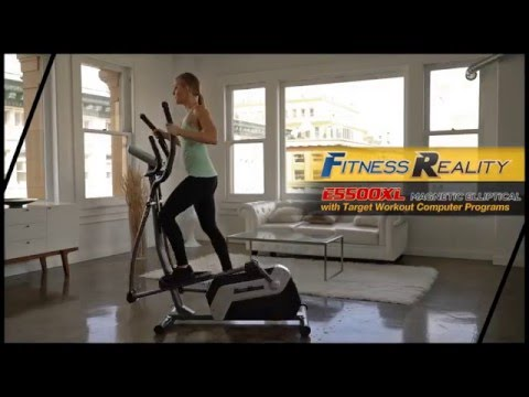 2338 - Finess Reality E5500XL Magnetic Elliptical