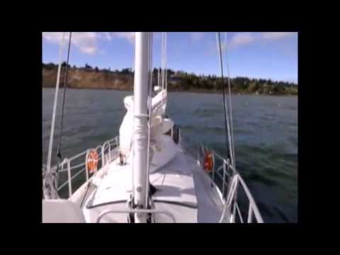 Anchor setting with wind.  Video #68 of an ongoing anchoring series.