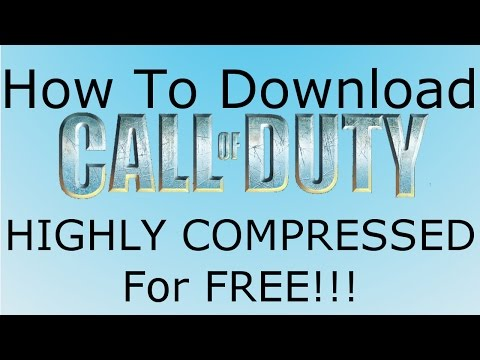 How to Download Call Of Duty 1 HIGHLY COMPRESSED for FREE!!!!