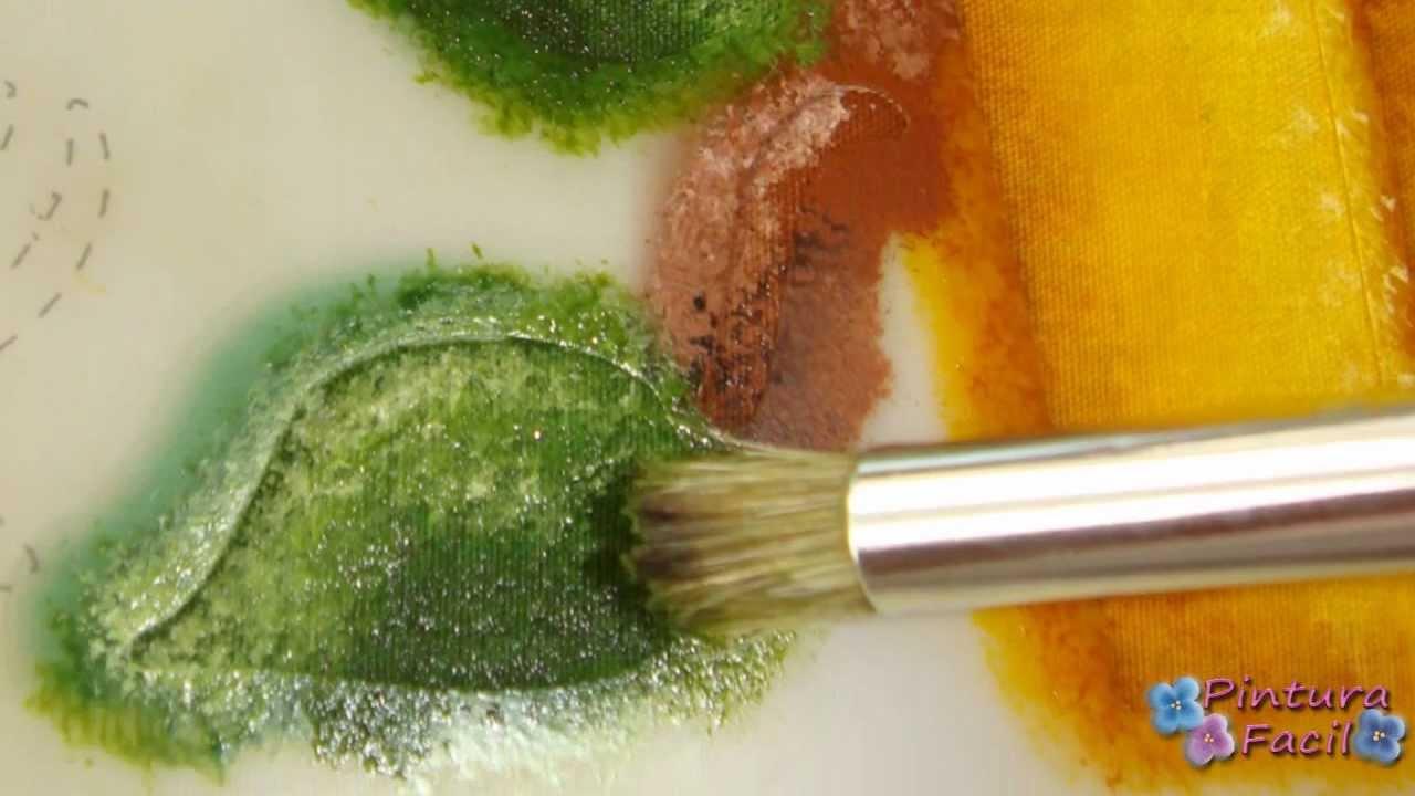 Diy pintura en tela como pintar con plantillas facil - Plantillas para pintar ...