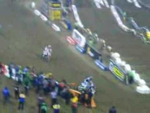 2008 AMA Supercross Chad Reed Wins Indianapolis RCA Dome