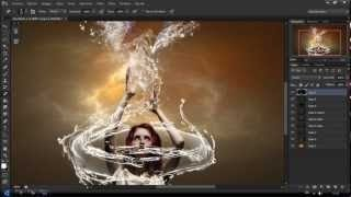 PHOTOSHOP EFFECT DRAGON WATER