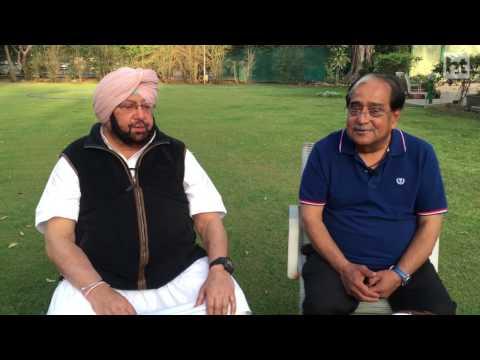 Interview with Amarinder Singh