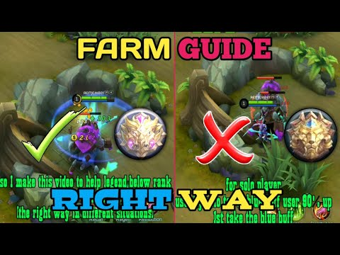 FARM TRICKS | HOW PRO'S FARMING | MOBILE LEGENDS FARM GUIDE | MOBILE LEGENDS BANG BANG