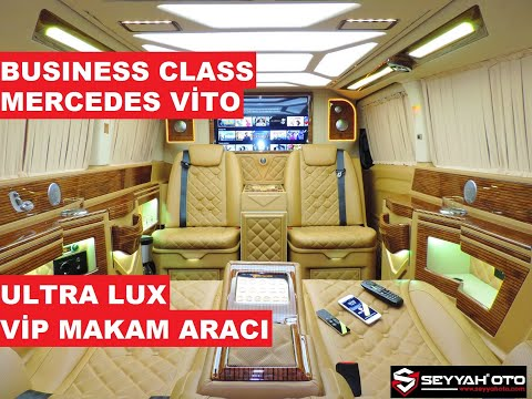Business Class Vip Makam Aracı 2020 Mercedes Vito 114 CDI Pro Plus