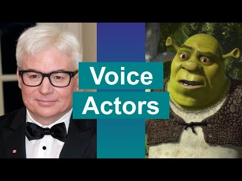 Shrek Voice Actors and Characters