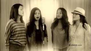 Pinay performs a classic tagalog song Dahil Sa Iyo