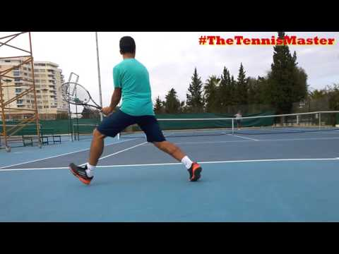 Tennis Crosscourt Drill ( 2 Backhands - 1 RunAroundForehand )