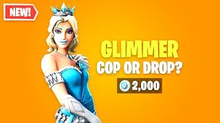 Fortnite GLIMMER Skin Worth it? Flic ou Drop ?