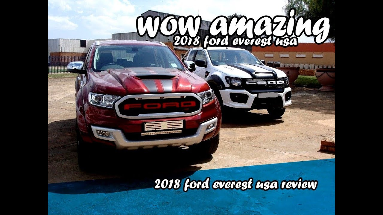 Ford Everest Usa >> 2018 ford everest usa - YouTube