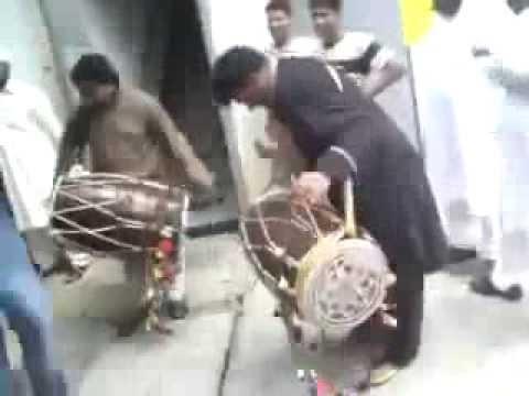 Challenge to Rani Taj Best Pakistani Dhol