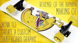 Gambar cover How to create a custom skateboard graphic