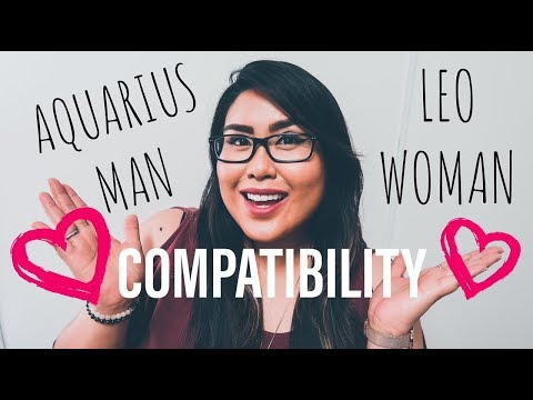 AQUARIUS MAN AND LEO WOMAN COMPATIBILITY (Sun Signs) - YouTube