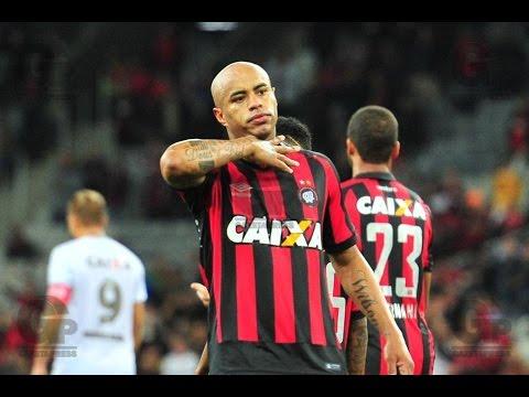 Atlético PR 2 x 1 Figueirense - GOLS - Campeonato Brasileiro - 28/05/2016