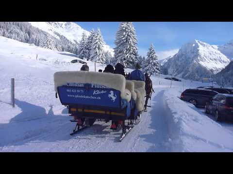 1001 Adventures  Switzerland / Schweiz / Suisse | Horse Sledge - Pferdeschlitten Adventure [HD]