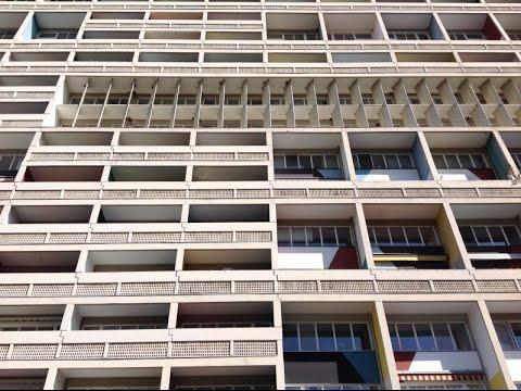 Unité d'habitation Berlin - Le Corbusier - Brutalist Architecture