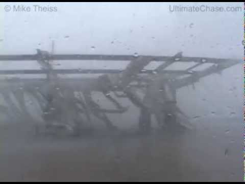 Hurricane Charley extreme eyewall winds over 150 miles per hour !!