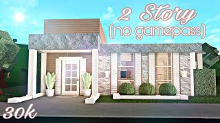 Bloxburg | 2 Story Tiny House!  No Gamepass
