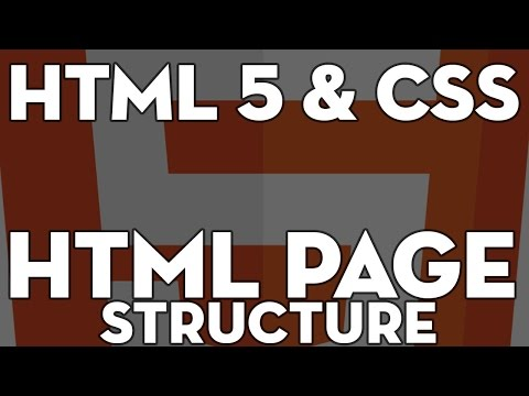 HTML5 & CSS Web Design - 103 - HTML 5 Document Structure