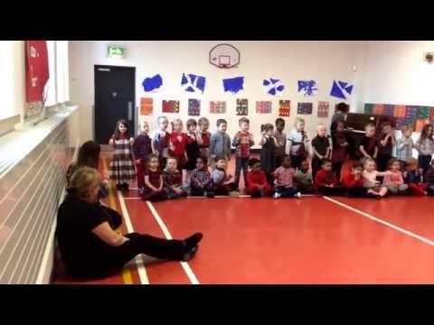 Katie Bairdie - Scottish Folk Song! Aberdeen Hanover Street School