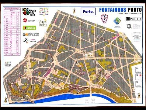 Porto City Race Orienteering, Porto by Night, Fontainhas 23 September 2016
