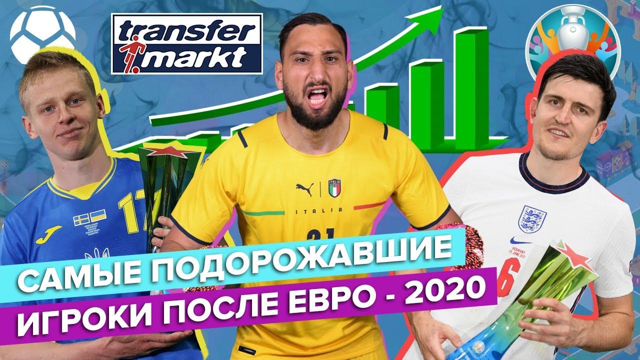 Самые подорожавшие игроки после Евро-2020