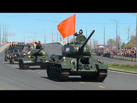 В Казани прошел праздничный парад Победы