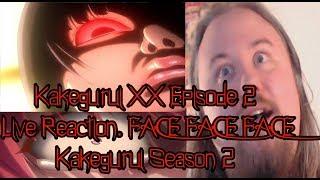 Kakegurui XX Episode 2 Live Reaction. FACE FACE FACE Kakegurui Season 2