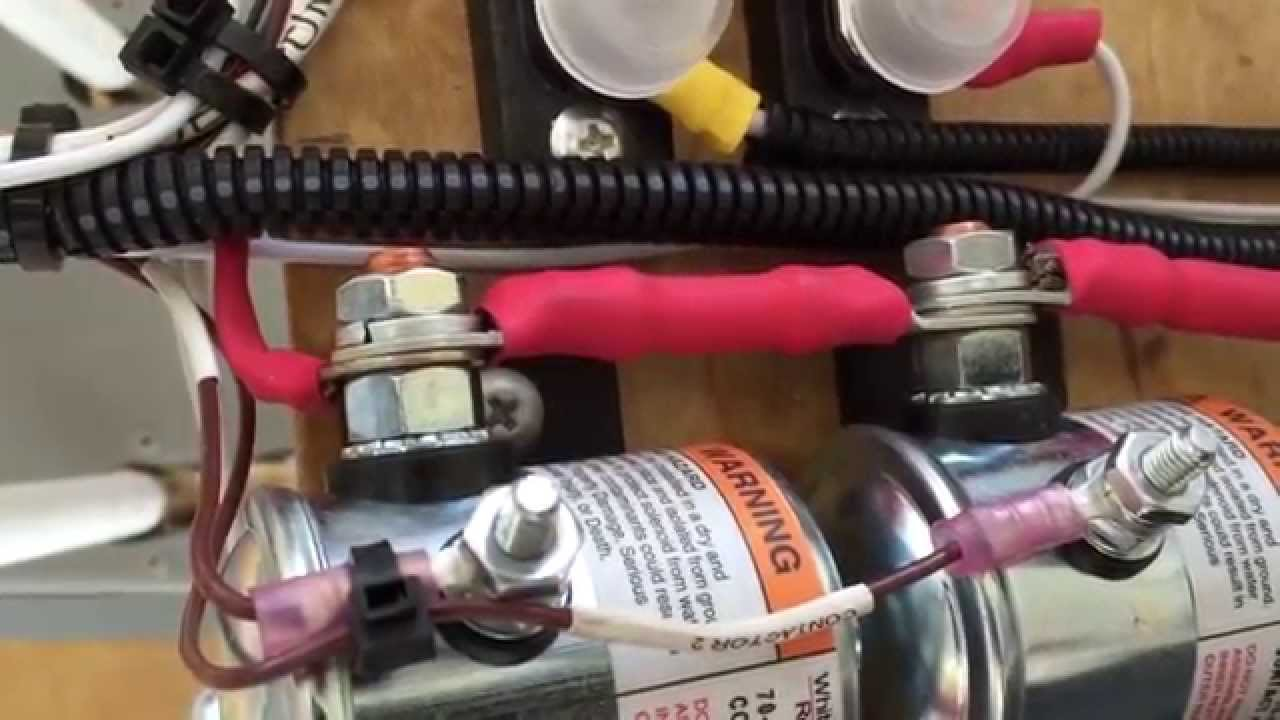 Battery Solenoid Installation On Viking Aircraft Engine