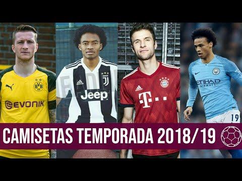 Nuevas Camisetas Temporada 2018/2019