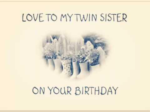 Happy Birthday Twins Youtube
