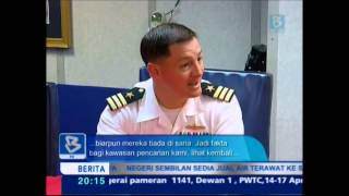 USS KIDD ship visit. Bernama tv