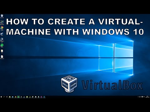 [How To] Create a Virtual Machine running Windows 10!