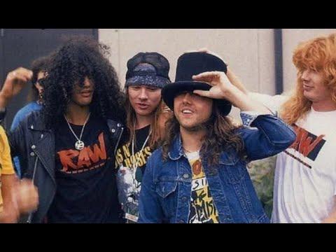 Guns N' Roses – GnR & Metallica Tour Live & Loud 1992