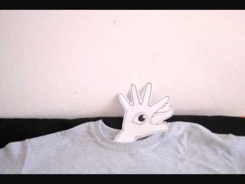 Psikopatik Cannabis lover T-shirt in Stop Motion