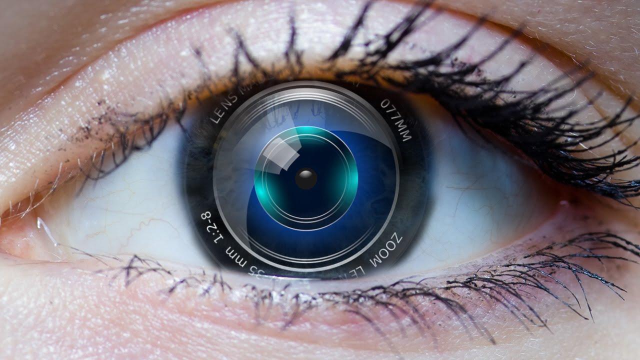 Welche Auflösung hat das Auge? - YouTube