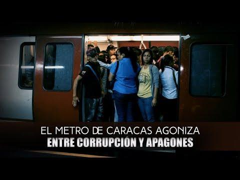 Metro de Caracas: otra imagen de la crisis en Venezuela