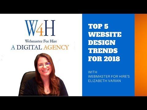Top 5 Trends for Website Design in 2018 - (561) 822-9931