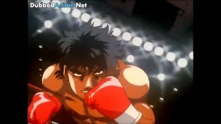 Hajime no Ippo - Ippo's First Dempsey Roll Eng Dub