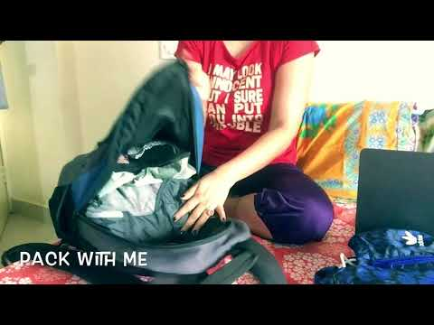 Pack With Me For Cochin trip