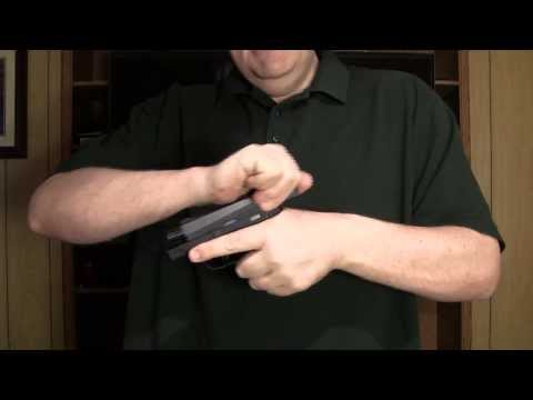 Easiest way for a woman to rack the slide of a pistol