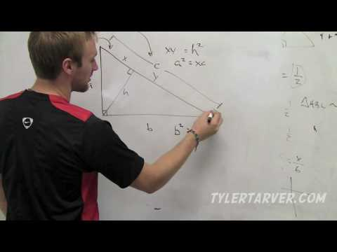 Geometry 8 1 Similarity In Right Triangles TarverAcademy