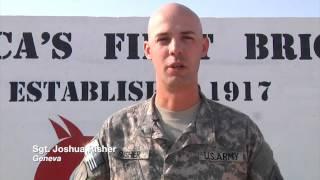 Military members send their greetings home to Northeast Ohio