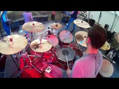 Mad Gun koncert (drum cam)