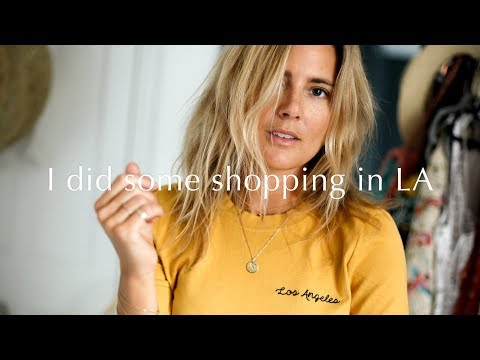 I DID SOME SHOPPING IN L.A | Lucy Williams