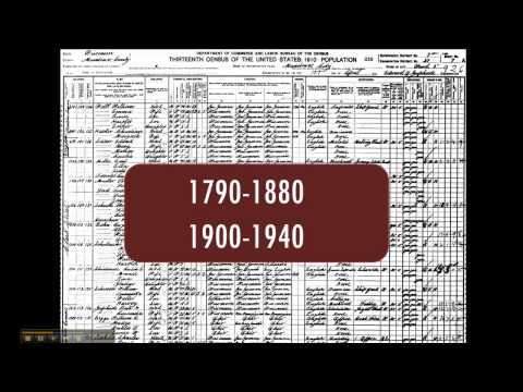 Jim Crow History Research Methods: Census