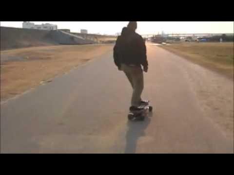 UNION Electric Skateboards in Osaka Vol.2 Yodogawa River