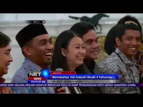 Presiden Jokowi Temui Musisi Membahas Visi Industri Musik - NET 5