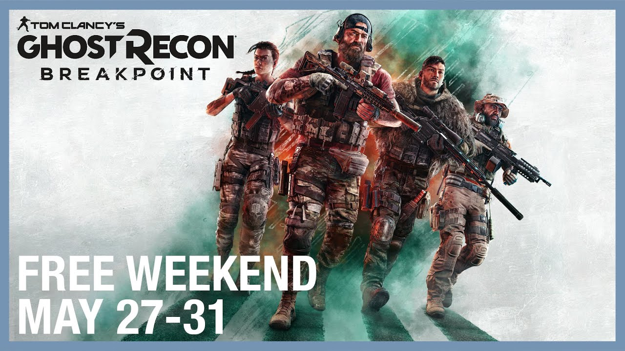 Tom Clancy's Ghost Recon Breakpoint: Free Weekend May 27-31 | Trailer | Ubisoft