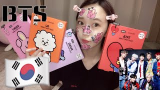 【防弾少年団】BTSのパックが可愛すぎる!!!全種類紹介 ながみれあ 検索動画 26
